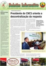 Boletim Informativo No 6 – Junho e Julho 2010 - CNCS