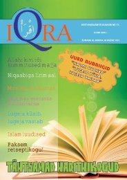 Iqra kuukiri nr.11 - Islam