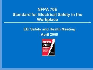 NFPA 70E Update_Wilmer.pdf - Esafetyline.com