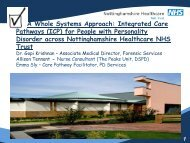 A Whole Systems Approach: Integrated Care Pathways - EFP