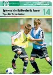 Spielend die Ballkontrolle lernen - FV Griesheim