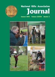 NRA Journal - Summer 2004 - National Rifle Association