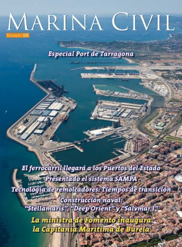 revista MARINA CIVIL - Salvamento Marítimo