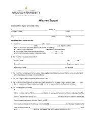 Affidavit of Support [PDF]