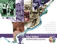 Six Neighborhoods - City of Indianapolis and Marion County