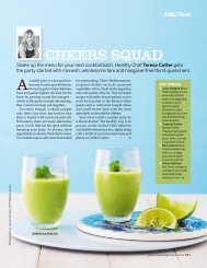 cheers squad - The Healthy Chef
