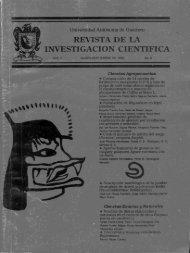 REVISTA DE LA INVESTIGACION CIENTIFICA - DanielHiernaux.Net