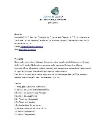 Programa - Departamento de Engenharia Civil, Arquitectura e ...