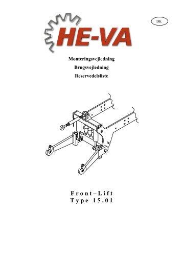 Download Brugsvejledning / Reservedelskatalog - HE-VA