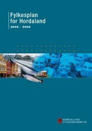Fylkesplan for Hordaland - Hordaland fylkeskommune