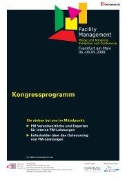 Kongressprogramm – Dienstag, 6. Mai 2008 - architekten24.de