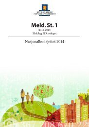 Meld. St. 1 (2013–2014) - NNN