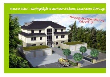 Exposè Wohnung 3 - B+G Bau + Grund Immobilien GmbH