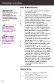 SI60 - HAAN Select User Manual - Page 6