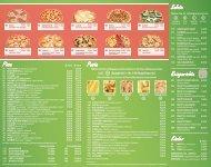 Pizza Pasta Salate Reisgerichte Kinder - Pizza Fresh
