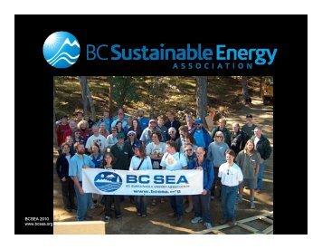 Climate Change Showdown - BC Sustainable Energy Association