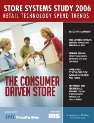 STORE SYSTEMS STUDY 2006 - RIS News