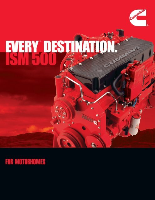 ISM 500 - Cummins Engines