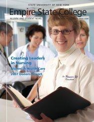 Empire News Spring 2008 (PDF 5453kB) - SUNY Empire State ...