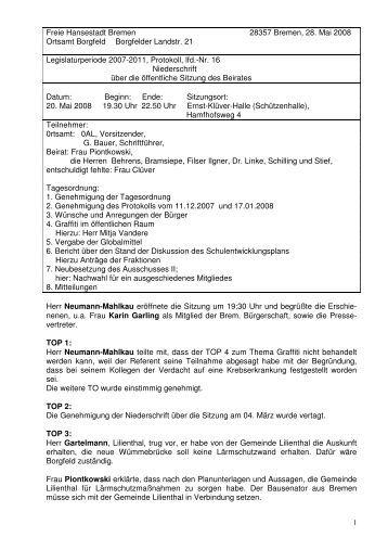 pdf, 416.8 KB - Ortsamt Borgfeld