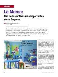 Mercadeo La Marca - Revista El Mueble y La Madera