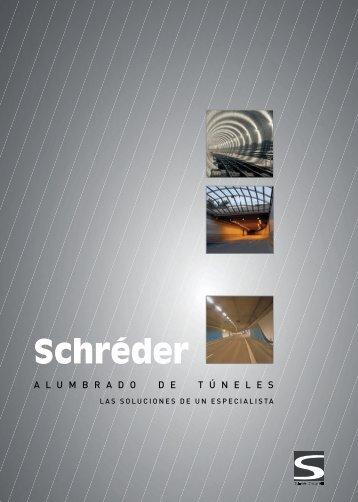 El alumbrado de los túneles - Schréder
