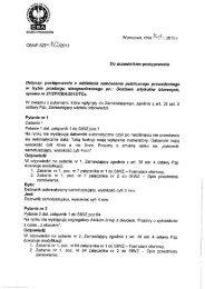 Odpowiedzi na pytania, modyfikacja SIWZ - CBA