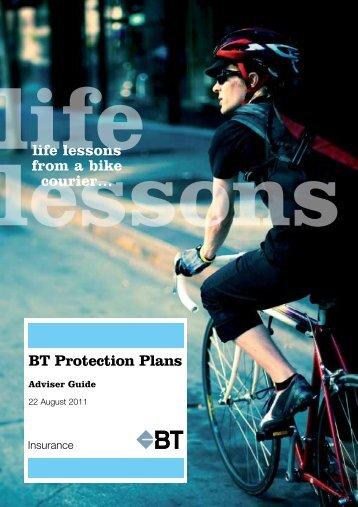 BT Protection Plans Adviser Guide 220811 - riskinfo