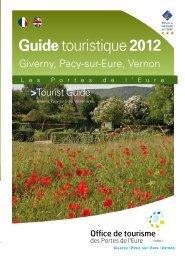 Guide touristique 2012 - Office de tourisme des portes de l'Eure