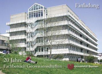 Untitled - Fachbereich Geowissenschaften - Universität Bremen