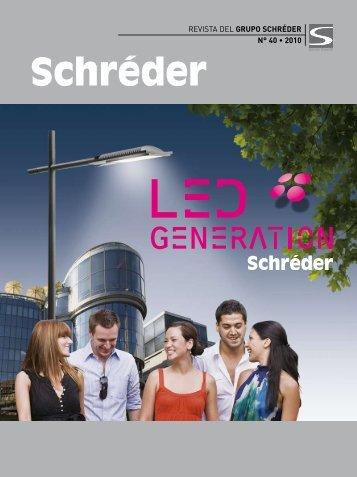 Más información sobre la Generación LED de Schréder