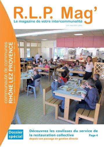 Dossier spécial - Communauté de Commune Rhone Lez Provence