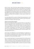 M e d i e n m i t t e i l u n g - Investor Relations - Mobimo - Seite 3
