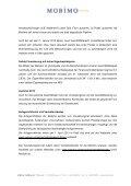 M e d i e n m i t t e i l u n g - Investor Relations - Mobimo - Seite 4