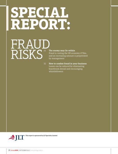 Risks31 The Enemy May Lie Within Fraud Is Costing The Uk Jlt