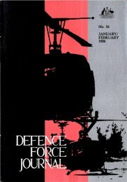 ISSUE 56 : Jan/Feb - 1986 - Australian Defence Force Journal