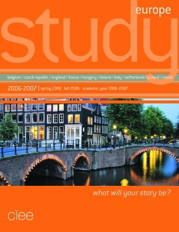 studyeurope - Council on International Educational Exchange