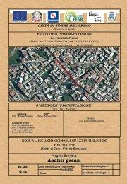 Analisi prezzi - Comune di Torre del Greco