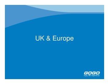 UK & Europe - GOGO Worldwide Vacations