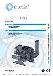 SERIE K-TD MOR - Watergas