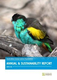 Annual Report 2011-12 - Australian Conservation Foundation