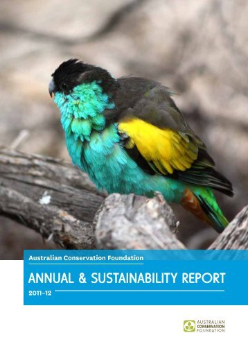 Annual Report 2011-12 - Australian Conservation Foundation