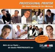 PROFESSIONAL PRINTER - Dr. Mohr
