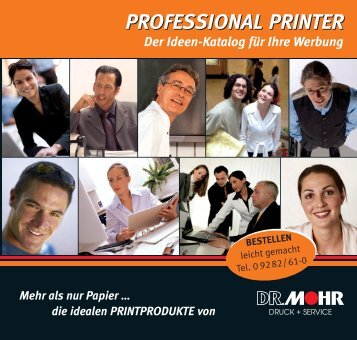 PROFESSIONAL PRINTER - Dr. Mohr