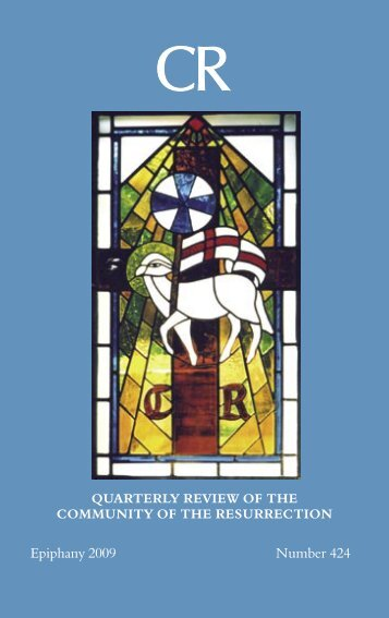 Epiphany - Companions of the Community of the Resurrection, Mirfield