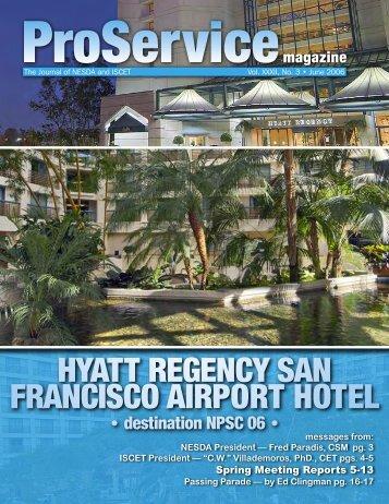 hyatt regency san francisco airport hotel - International Society of ...