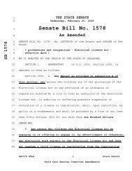 Senate Bill No. 1578 - Oklahoma Legislature