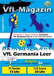 HERUNTERLADEN! - VfL Germania Leer