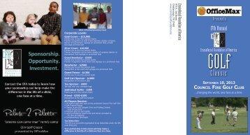 GOLf Classic - Craniofacial Foundation of America