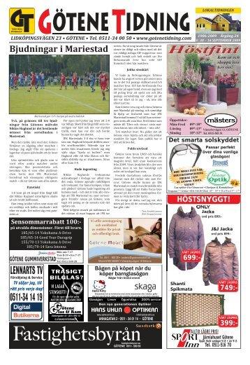 Höstfint - Götene Tidning